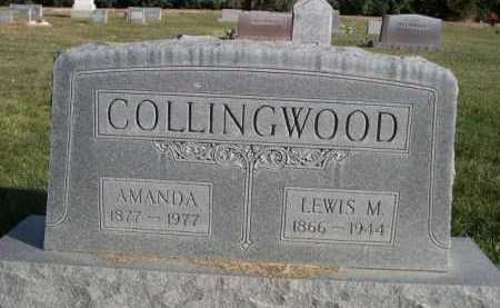 COLLINGWOOD, LEWIS M. - Dawes County, Nebraska | LEWIS M. COLLINGWOOD - Nebraska Gravestone Photos