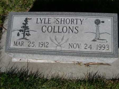 "COLLONS, LYLE ""SHORTY"" - Dawes County, Nebraska 