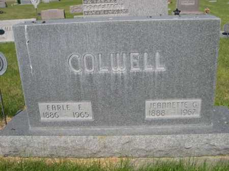 COLWELL, EARLE E. - Dawes County, Nebraska | EARLE E. COLWELL - Nebraska Gravestone Photos