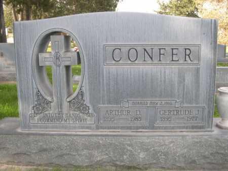 CONFER, GERTRUDE J. - Dawes County, Nebraska | GERTRUDE J. CONFER - Nebraska Gravestone Photos