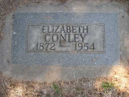 CONLEY, ELIZABETH - Dawes County, Nebraska   ELIZABETH CONLEY - Nebraska Gravestone Photos