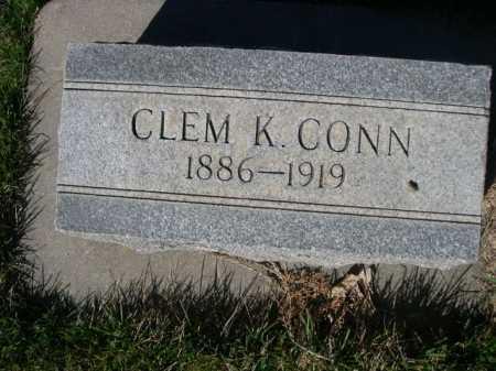 CONN, CLEM K. - Dawes County, Nebraska   CLEM K. CONN - Nebraska Gravestone Photos