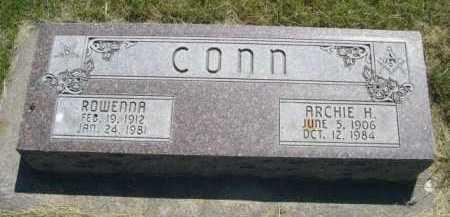 CONN, ROWENNA - Dawes County, Nebraska | ROWENNA CONN - Nebraska Gravestone Photos
