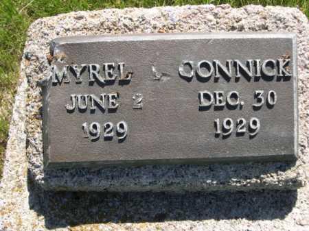 CONNICK, MYREL - Dawes County, Nebraska | MYREL CONNICK - Nebraska Gravestone Photos