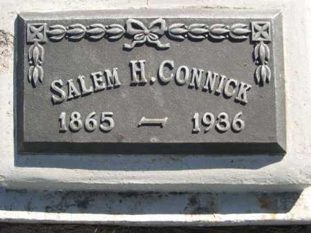 CONNICK, SALEM H. - Dawes County, Nebraska | SALEM H. CONNICK - Nebraska Gravestone Photos