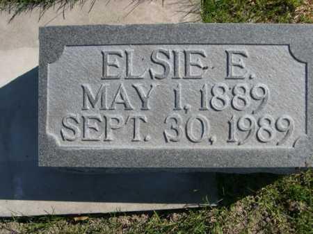 CONNORS, ELSIE ELLA - Dawes County, Nebraska   ELSIE ELLA CONNORS - Nebraska Gravestone Photos