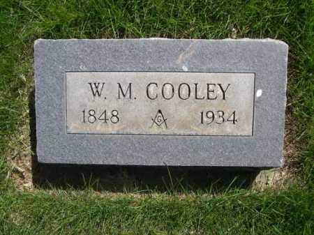 COOLEY, W. M. - Dawes County, Nebraska | W. M. COOLEY - Nebraska Gravestone Photos