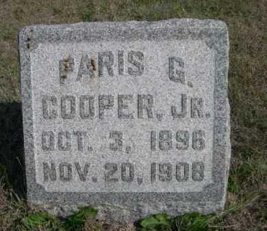COOPER, PARIS G. JR. - Dawes County, Nebraska   PARIS G. JR. COOPER - Nebraska Gravestone Photos