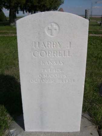 CORRELL, HARRY J. - Dawes County, Nebraska | HARRY J. CORRELL - Nebraska Gravestone Photos