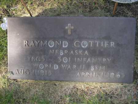 COTTIER, RAYMOND - Dawes County, Nebraska | RAYMOND COTTIER - Nebraska Gravestone Photos