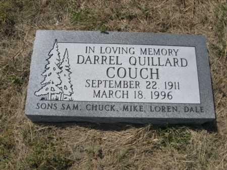 COUCH, DARREL QUILLARD - Dawes County, Nebraska | DARREL QUILLARD COUCH - Nebraska Gravestone Photos