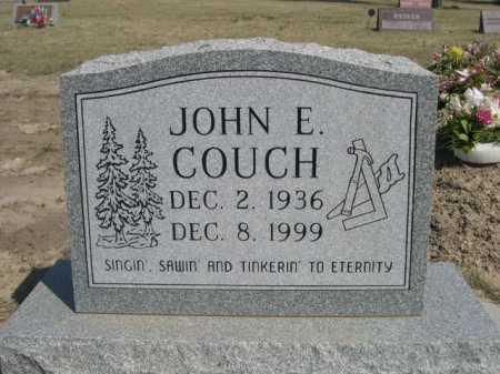 COUCH, JOHN E. - Dawes County, Nebraska   JOHN E. COUCH - Nebraska Gravestone Photos