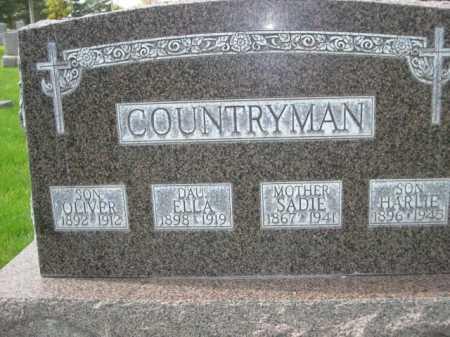 COUNTRYMAN, HARLIE - Dawes County, Nebraska | HARLIE COUNTRYMAN - Nebraska Gravestone Photos