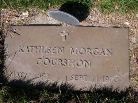 MORGAN COURSHON, KAHTLEEN MORGAN - Dawes County, Nebraska | KAHTLEEN MORGAN MORGAN COURSHON - Nebraska Gravestone Photos
