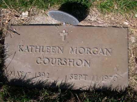 COURSHON, KAHTLEEN MORGAN - Dawes County, Nebraska | KAHTLEEN MORGAN COURSHON - Nebraska Gravestone Photos