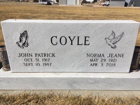 COYLE, JOHN PATRICK - Dawes County, Nebraska | JOHN PATRICK COYLE - Nebraska Gravestone Photos