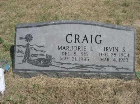 CRAIG, IRVIN S. - Dawes County, Nebraska   IRVIN S. CRAIG - Nebraska Gravestone Photos