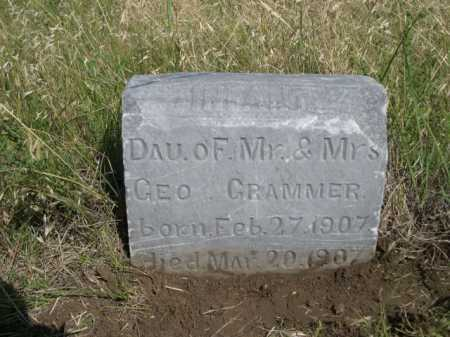 CRAMMER, INFANT DAU OF MR. & MRS. GEO. - Dawes County, Nebraska | INFANT DAU OF MR. & MRS. GEO. CRAMMER - Nebraska Gravestone Photos
