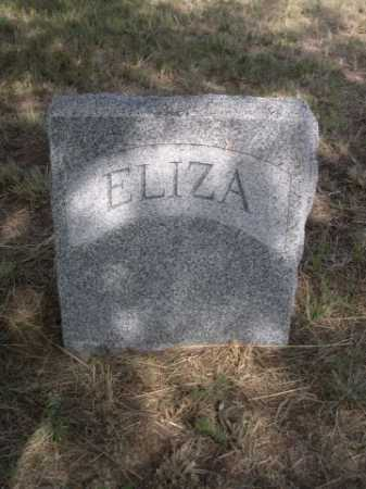 CRIPPS, ELIZA - Dawes County, Nebraska | ELIZA CRIPPS - Nebraska Gravestone Photos