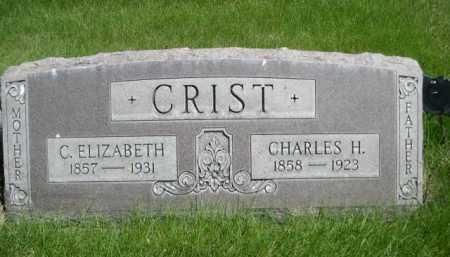 CRIST, C. ELIZABETH - Dawes County, Nebraska   C. ELIZABETH CRIST - Nebraska Gravestone Photos