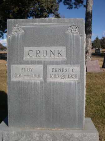 CRONK, ERNEST O. - Dawes County, Nebraska | ERNEST O. CRONK - Nebraska Gravestone Photos