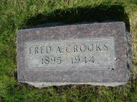 CROOKS, FRED A. - Dawes County, Nebraska | FRED A. CROOKS - Nebraska Gravestone Photos