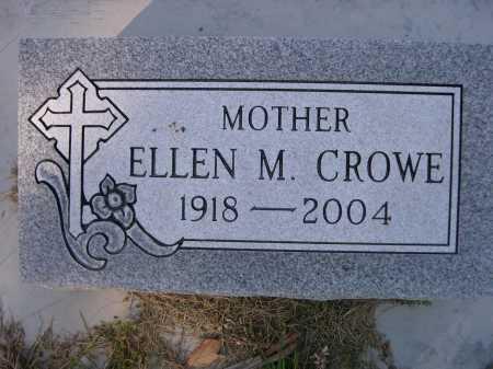 CROWE, ELLEN M - Dawes County, Nebraska   ELLEN M CROWE - Nebraska Gravestone Photos