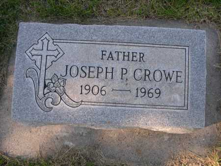 CROWE, JOSEPH P - Dawes County, Nebraska   JOSEPH P CROWE - Nebraska Gravestone Photos