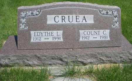 CRUEA, COUNT C. - Dawes County, Nebraska   COUNT C. CRUEA - Nebraska Gravestone Photos