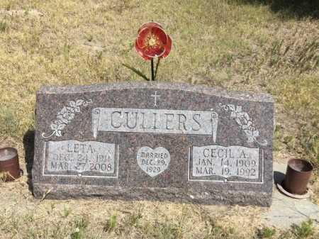 CULLERS, CECIL A. - Dawes County, Nebraska   CECIL A. CULLERS - Nebraska Gravestone Photos