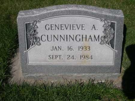 CUNNINGHAM, GENEVIEVE A. - Dawes County, Nebraska | GENEVIEVE A. CUNNINGHAM - Nebraska Gravestone Photos
