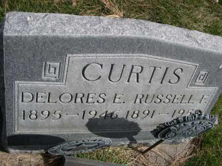 CURTIS, DELORES E. - Dawes County, Nebraska | DELORES E. CURTIS - Nebraska Gravestone Photos
