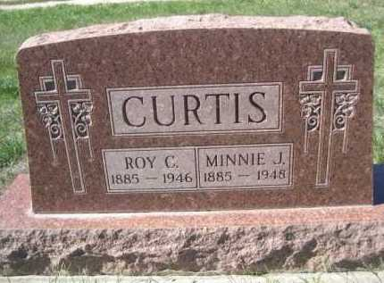 CURTIS, MINNIE J. - Dawes County, Nebraska | MINNIE J. CURTIS - Nebraska Gravestone Photos