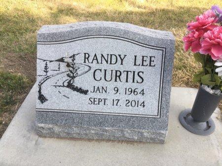 CURTIS, RANDY LEE - Dawes County, Nebraska | RANDY LEE CURTIS - Nebraska Gravestone Photos
