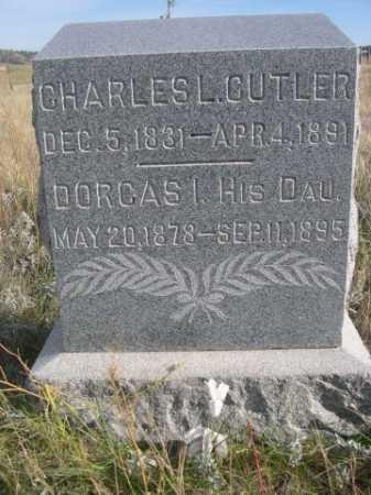 CUTLER, CHARLES L. - Dawes County, Nebraska   CHARLES L. CUTLER - Nebraska Gravestone Photos