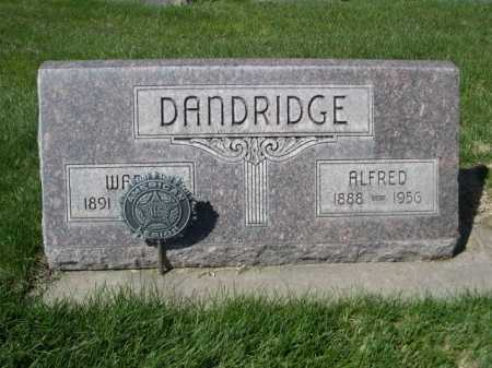 DANDRIDGE, WARD - Dawes County, Nebraska | WARD DANDRIDGE - Nebraska Gravestone Photos