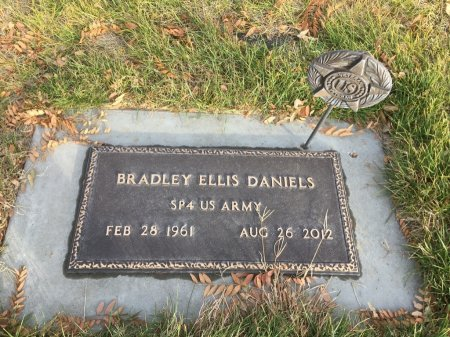 DANIELS, BRADLEY ELLIS - Dawes County, Nebraska | BRADLEY ELLIS DANIELS - Nebraska Gravestone Photos