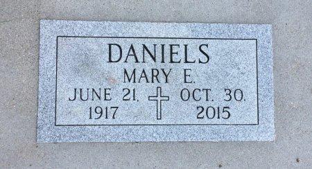 DANIELS, MARY E - Dawes County, Nebraska | MARY E DANIELS - Nebraska Gravestone Photos