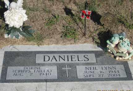 DANIELS, NEIL LYNN - Dawes County, Nebraska   NEIL LYNN DANIELS - Nebraska Gravestone Photos