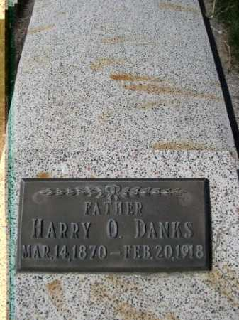 DANKS, HARRY O. - Dawes County, Nebraska   HARRY O. DANKS - Nebraska Gravestone Photos