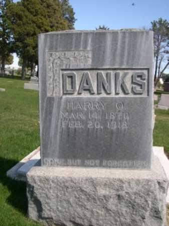 DANKS, HARRY O. - Dawes County, Nebraska | HARRY O. DANKS - Nebraska Gravestone Photos