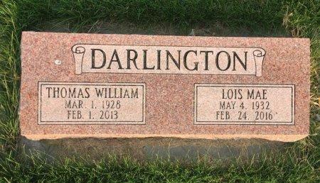 DARLINGTON, THOMAS WILLIAM - Dawes County, Nebraska | THOMAS WILLIAM DARLINGTON - Nebraska Gravestone Photos