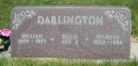 DARLINGTON, MILDRED - Dawes County, Nebraska | MILDRED DARLINGTON - Nebraska Gravestone Photos