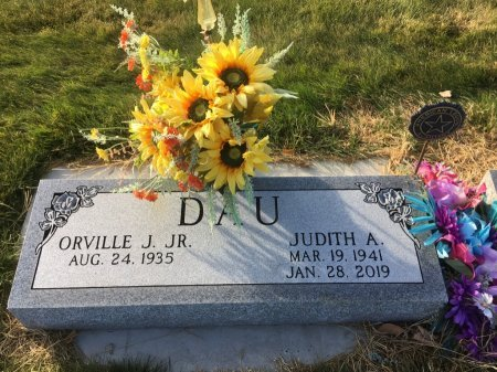 DAU, ORVILLE J JR - Dawes County, Nebraska | ORVILLE J JR DAU - Nebraska Gravestone Photos
