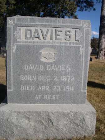 DAVIES, DAVID - Dawes County, Nebraska | DAVID DAVIES - Nebraska Gravestone Photos