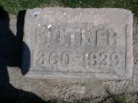 DAWSON, MOTHER - Dawes County, Nebraska   MOTHER DAWSON - Nebraska Gravestone Photos