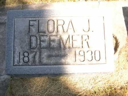 DEEMER, FLORA J. - Dawes County, Nebraska | FLORA J. DEEMER - Nebraska Gravestone Photos