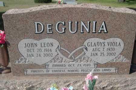 DEGUNIA, GLADYS VIOLA - Dawes County, Nebraska | GLADYS VIOLA DEGUNIA - Nebraska Gravestone Photos