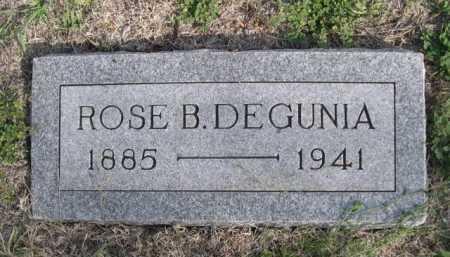 DEGUNIA, ROSE B. - Dawes County, Nebraska   ROSE B. DEGUNIA - Nebraska Gravestone Photos
