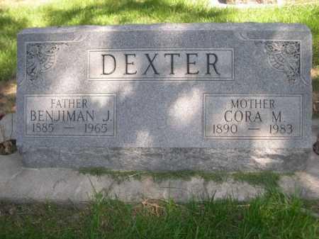 DEXTER, BENJIMAN J. - Dawes County, Nebraska   BENJIMAN J. DEXTER - Nebraska Gravestone Photos